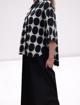 Camicia Donna in Cotone Elasticizzato a Pois