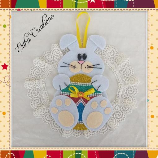 Immagine di Decorazione pasquale coniglietto