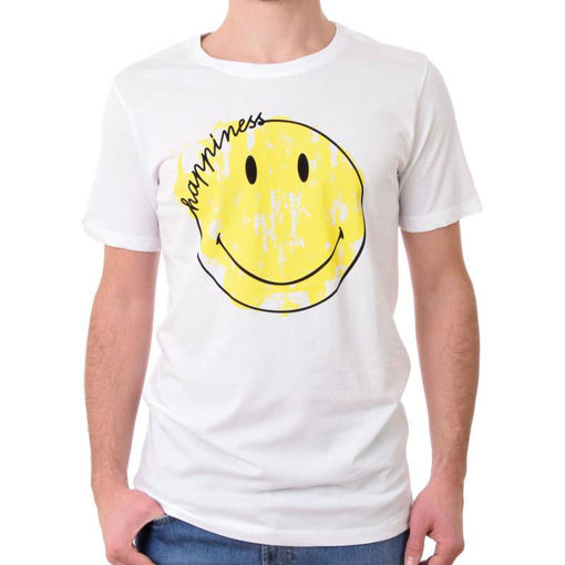 Happiness - T-shirt manica corta uomo smile