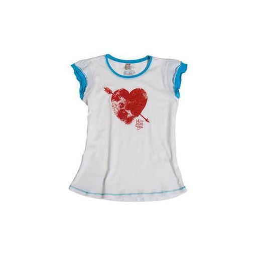Carrera - T-shirt  Bambina Bianca