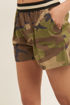Pantaloncino Donna Militare