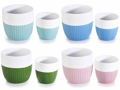 Set vasi in ceramica