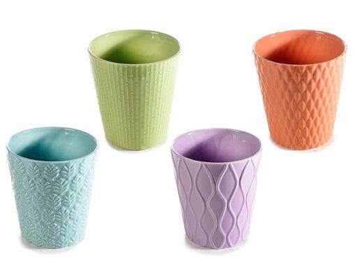 Vasi in ceramica colorata