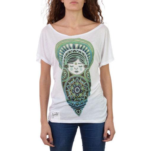 Graceless- T-shirt con Stampa Bianca