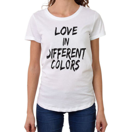 Happiness T-shirt con Stampa