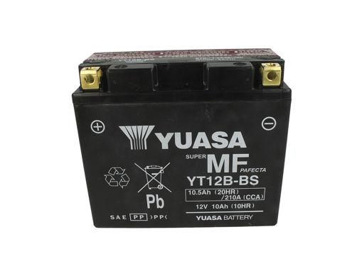 Immagine di Batteria Moto YUASA YT12B-BS Con Acido 12V 10Ah 210A