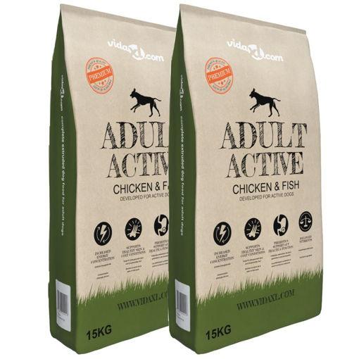 Immagine di Cibo Secco Cani Premium Adult Active Chicken & Fish 2 pz 30 kg