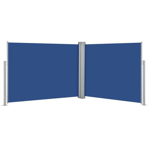 Immagine di Tenda da Sole Laterale Retrattile Blu 170x1000 cm