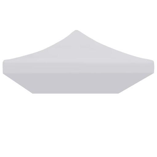 Immagine di Tetto per Tendone per Feste 3x6 m Bianco