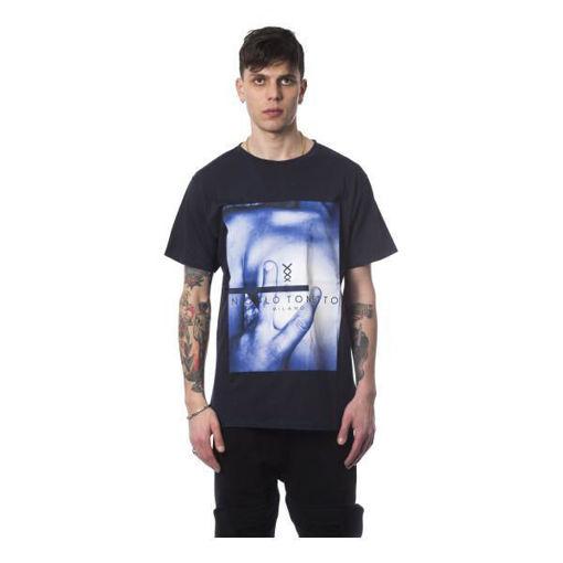 Nicolo Tonetto - T-shirt Uomo Blu Navy