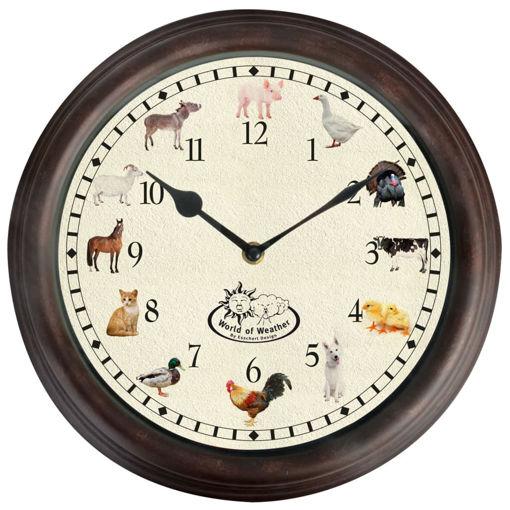 Immagine di Esschert Design Orologio a Tema Animali da Fattoria e Suoni