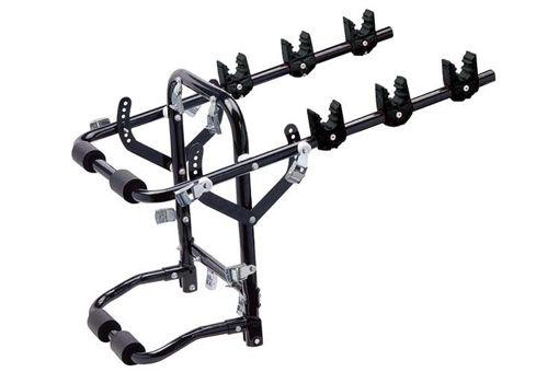 Immagine di Portabici Posteriore Auto Giove a 3 Bici Pieghevole Portatarga