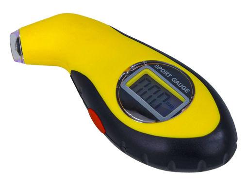 Immagine di Manometro Digitale Pneumatici e Ruote Per Misurare Pressione Gomme Auto