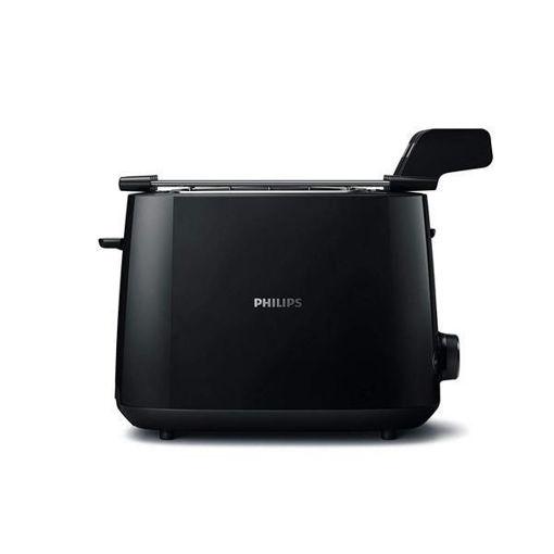 Philips - Tostapane Nero 600W