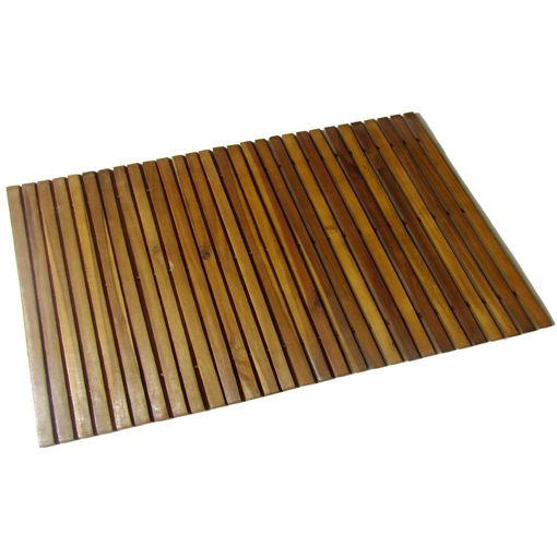 Immagine di Stuoia per bagno in acacia 80 x 50 cm