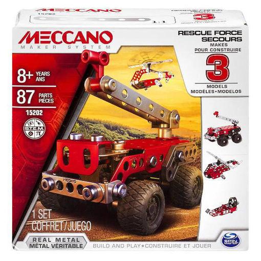 Meccano - Rescue Force Secours