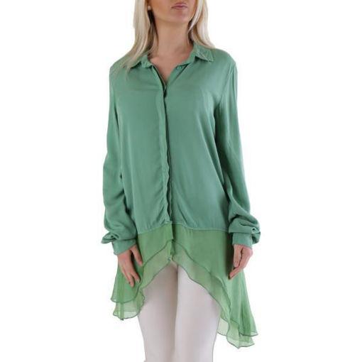Camicia Donna Verde