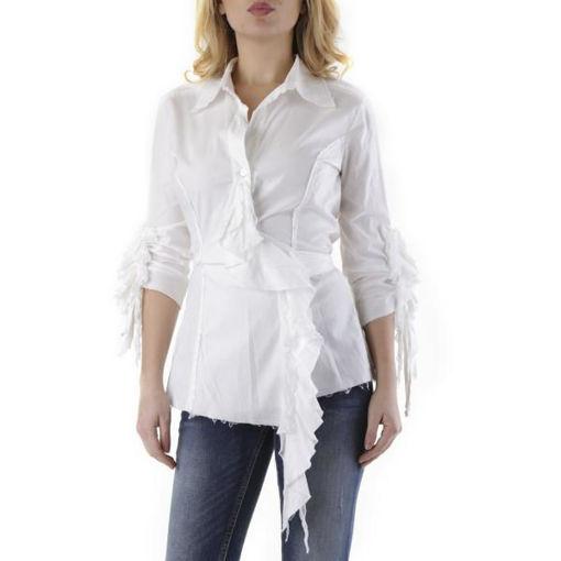 Camicia Donna Bianca in Cotone