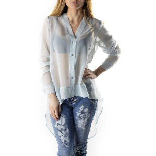 Camicia Donna Azzurra