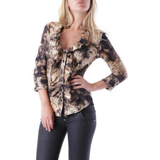 Camicia Donna Marrone