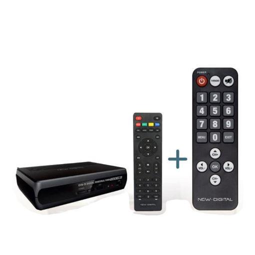 Decoder Digitale Terrestre HD Doppio Teledomando