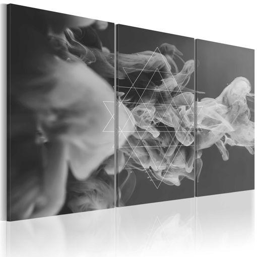 Immagine di Quadro - Fumo e simmetria