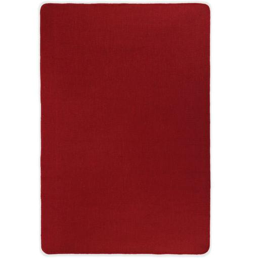 Immagine di Tappeto di Iuta con Base in Lattice 140x200 cm Rosso