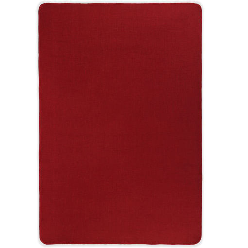Immagine di Tappeto di Iuta con Base in Lattice 190x300 cm Rosso