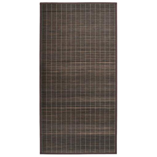 Immagine di Tappeto in Bambù 195x300 cm Marrone Scuro