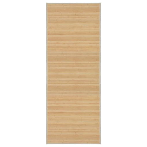 Immagine di Tappeto in Bambù 80x200 cm Naturale