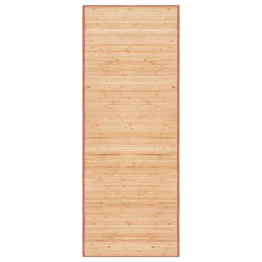 Immagine di Tappeto in Bambù 80x200 cm Marrone