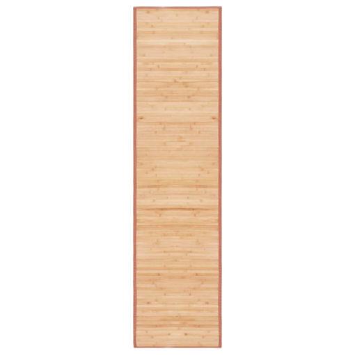 Immagine di Tappeto in Bambù 80x300 cm Marrone