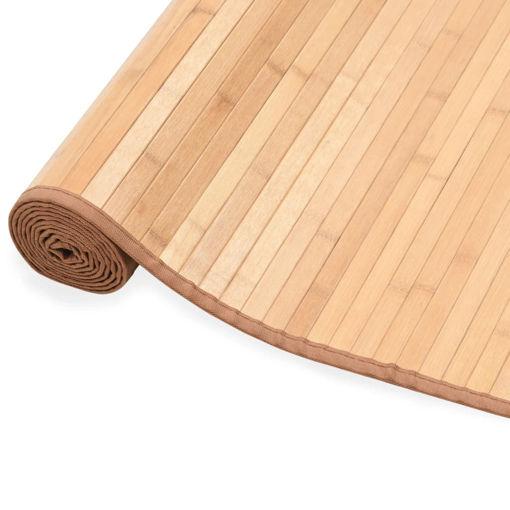 Immagine di Tappeto in Bambù 120x180 cm Marrone