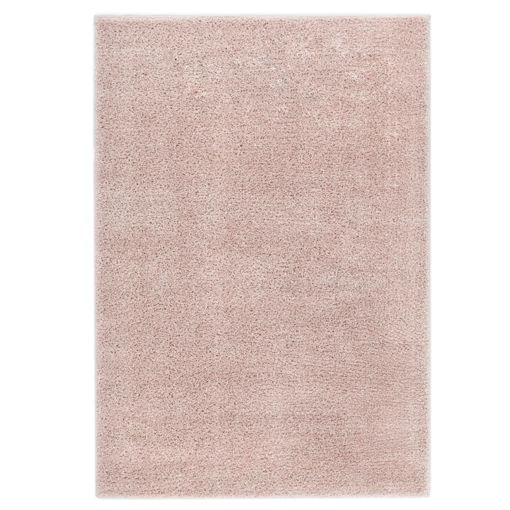Immagine di Tappeto Shaggy a Pelo Lungo 120x170 cm Rosa Antico