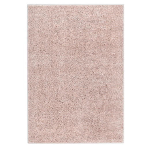 Immagine di Tappeto Shaggy a Pelo Lungo 160x230 cm Rosa Antico
