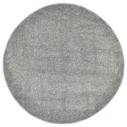 Immagine di Tappeto Shaggy a Pelo Lungo 120 cm Grigio