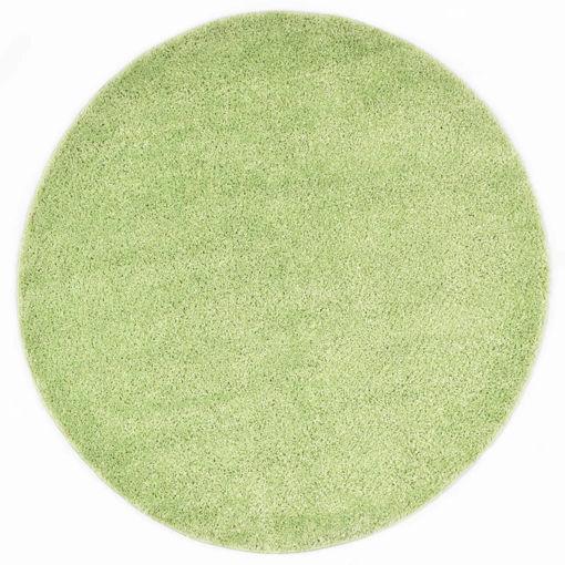 Immagine di Tappeto Shaggy a Pelo Lungo 67 cm Verde