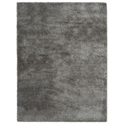 Immagine di Tappeto Shaggy a Pelo Lungo 120x160 cm Antracite