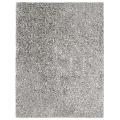 Immagine di Tappeto Shaggy a Pelo Lungo 120x160 cm Grigio