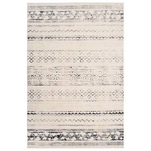 Immagine di Tappeto Stampato Beige 160x230 cm in Poliestere