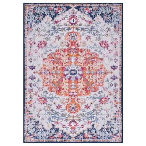 Immagine di Tappeto Stampato Multicolore 80x150 cm in Tessuto