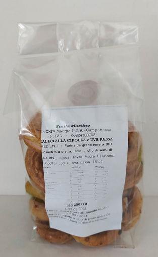 Taralli Tiratelli Cipolla E Uva Passa - Bio