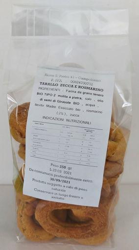 Taralli Tiratelli Zucca E Rosmarino - Bio