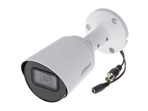 Telecamera Analogica Bullet 1080P 2MP Ottica Fissa 2.8mm IP67 DC12V HDCVI Smart IR Carcassa Plastica DAHUA HAC-HFW1200TP