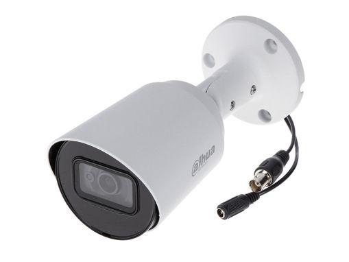 Telecamera Analogica Bullet 1440P 4MP Ottica Fissa 2.8mm IP67 DC12V HDCVI Smart IR Carcassa Plastica DAHUA HAC-HFW1400TP