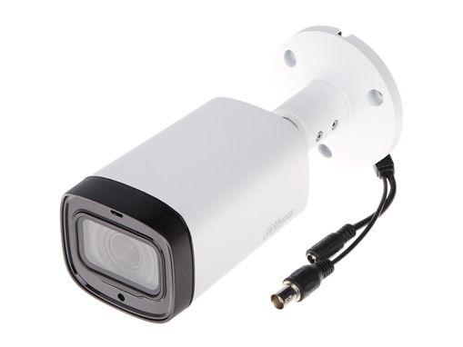 Telecamera Analogica Bullet 1440P 4MP Ottica Varifocale Motorizzato 2.7-12mm IP67 DC12V HDCVI Smart IR Carcassa Plastica DAHUA HAC-HFW1400RP-Z-IRE6