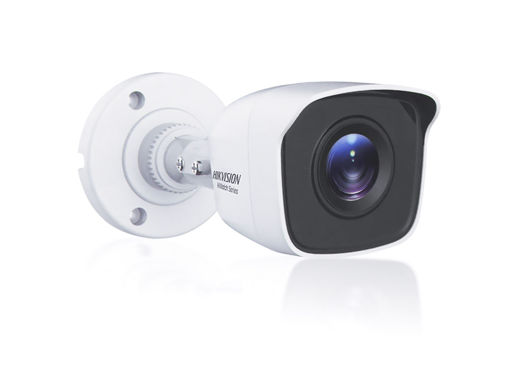 Telecamera Analogica Bullet 1080P 2MP Ottica Fissa 2.8mm IP66 OSD CMOS Sensor EXIR Smart IR TVI AHD CVI CVBS Carcassa Metallo HiWatch HWT-B120-M