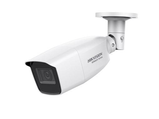 Telecamera Analogica Bullet 1080P 2MP Ottica Varifocale Manuale 2.8-12mm IP66 OSD Smart IR TVI AHD CVI CVBS HiWatch HWT-B320-VF