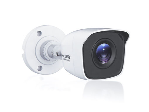 Telecamera Analogica Bullet 1440P 4MP Ottica Fisssa 2.8mm IP66 OSD CMOS Sensor EXIR Smart IR TVI AHD CVI CVBS Carcassa Metallo HiWatch HWT-B140-M