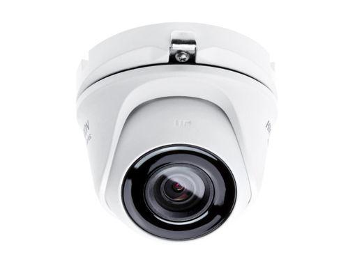 Telecamera Analogica Turret Dome 1440P 4MP Ottica Fissa 2.8mm IP66 OSD EXIR Smart IR TVI AHD CVI CVBS Carcassa Metallo HiWatch HWT-T140-M